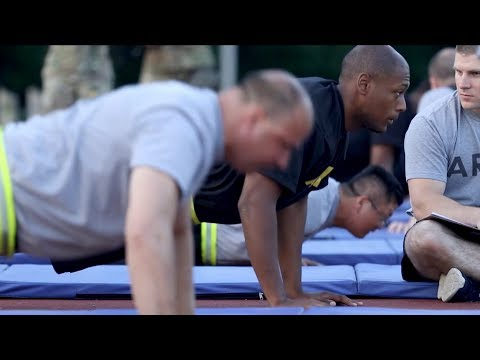 'Let's get physical' with the Comprehensive Soldier Fitness Program