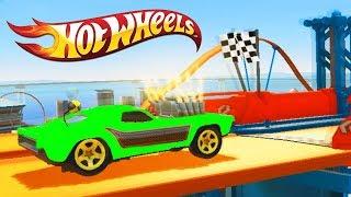 ГОНКА ДНЯ МАШИНКИ ХОТ ВИЛС #50 МОНСТР ТРАКИ ЧУМОВЫЕ ГОНКИ HOT WHEELS игра как мультики для детей CAR