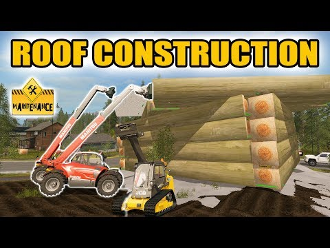 FARMING SIMULATOR 2017 | LAKE HOUSE ROOF CONSTRUCTION | MULTIPLAYER!