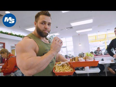 🍔 Cheat Meals With Pro Bodybuilders 🍔 | Regan Grimes, Animal Style