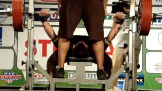 Daniel Miller bench press 227,5kg