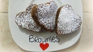 Receta: Como hacer brownies en forma de corazón ♥ Thumbnail