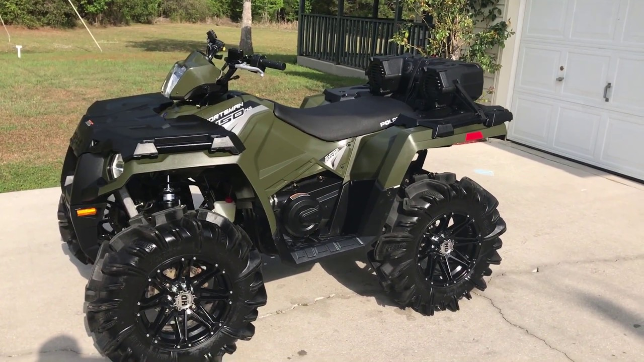 2017 Polaris Sportsman 450ho You