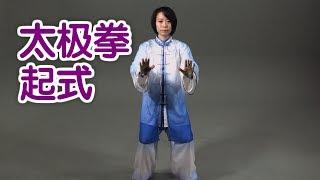 太极拳起式如何练习? 太极拳教学Tai Chi Lessons:Preparation Movement