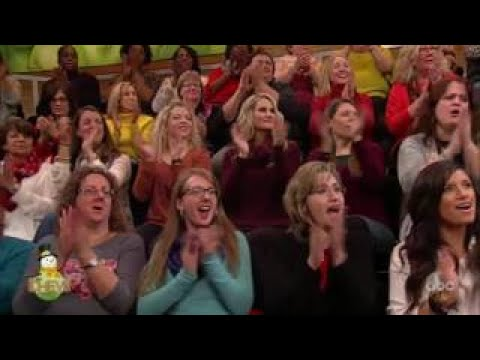 The Chew (December 16, 2016) The Radio City Rockettes.