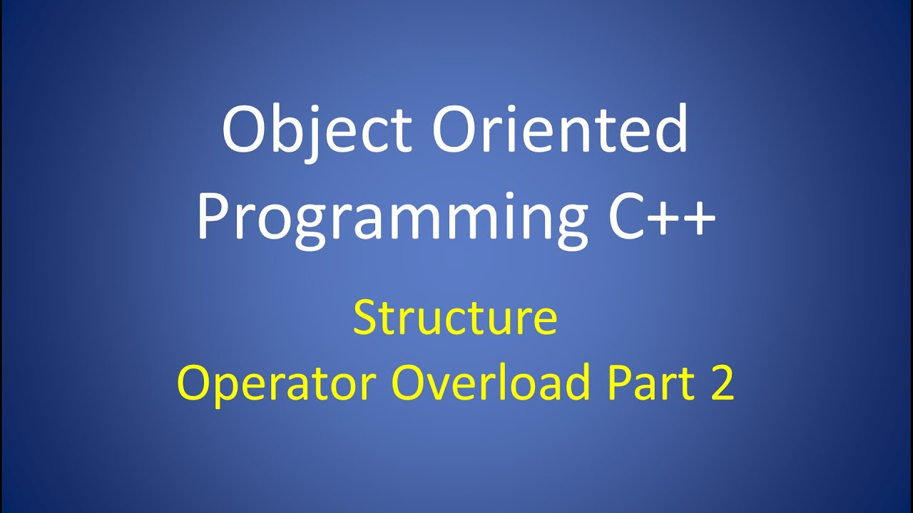 features of object oriented programming in c++ pdf