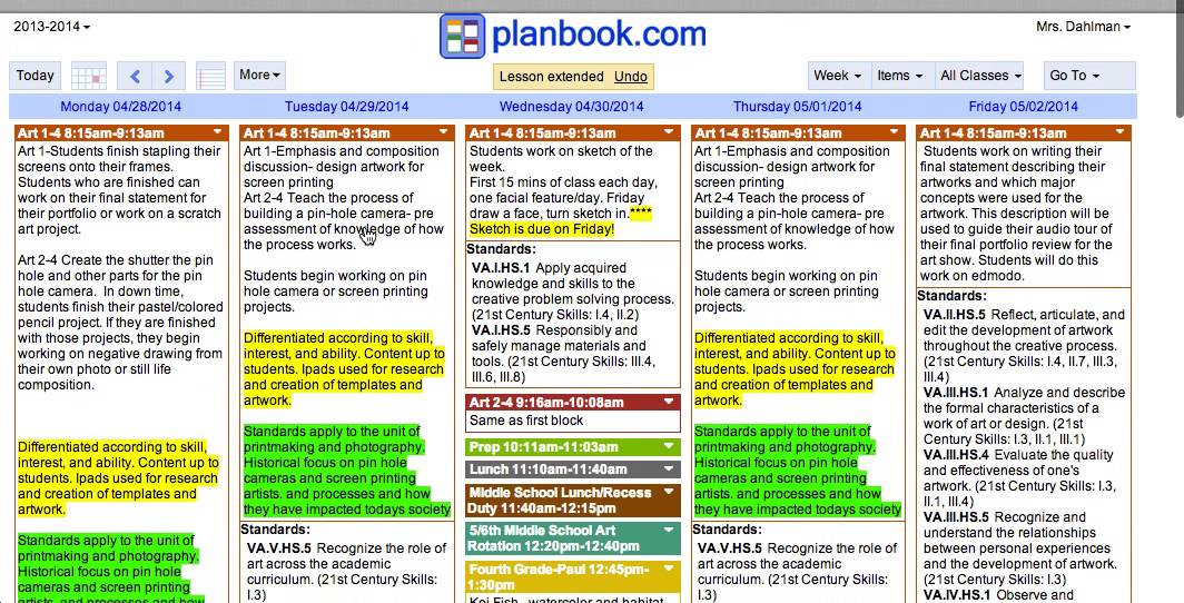 Youtube for Free planbook