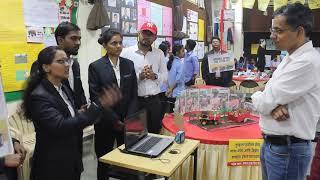 Suryadatta's students at Mega EXPO - Group representing Mahindra & Mahindra