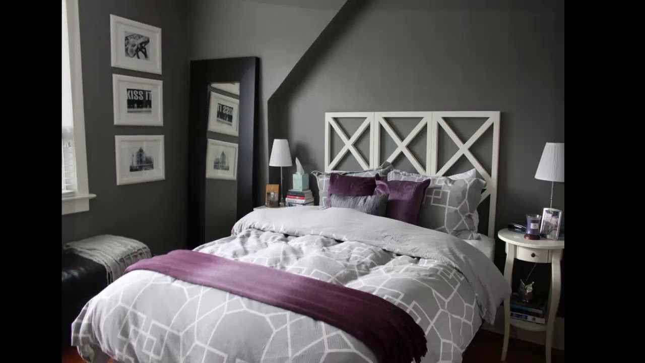 Grau Schlafzimmer Ideen Wanddekoration
