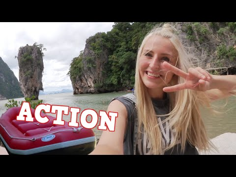 Follow me around | James Bond Island | Monkey Cave | Thailand/Phuket  #Bonnytrash