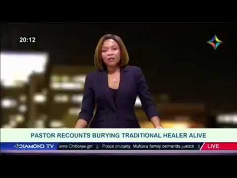 ZION CHURCH PASTOR BURIED ALIVE IN ZAMBIA  (James sakala