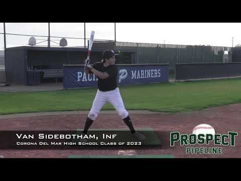 Van Sidebotham Prospect Video, Inf, Corona Del Mar High School Class of 2023