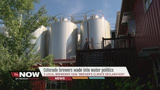Colorado brewers wade into water politics