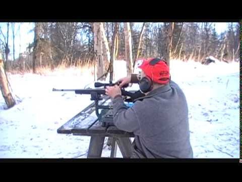 Ruger Quick Detachable Scope Ring Shooting Demo 375 Ruger