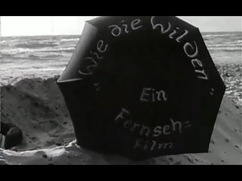 DDR Fernsehfilm  Wie die Wilden  1959 DEFA schwarz weiss