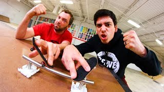GAME OF FINGERBOARD S.K.A.T.E. - Sam Tabor vs. Andy Schrock