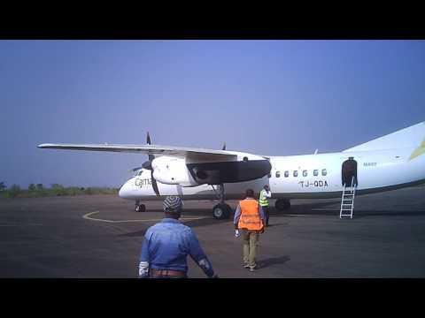 Boarding/Embarquement Camair-Co MA60 Aeroport Bafoussam Airport