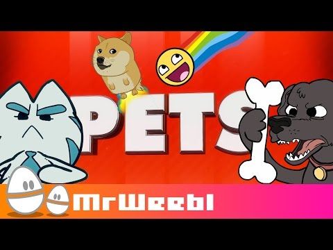 Pets : A selection of animated songs by Mr Weebl
