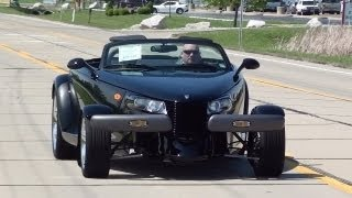 Test Drive - 1999 Plymouth Prowler and Matching Trailer