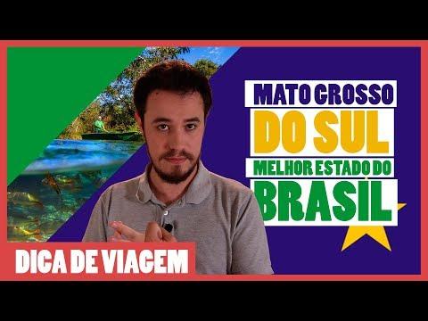 Por que o MATO GROSSO DO SUL é o MELHOR ESTADO do Brasil?