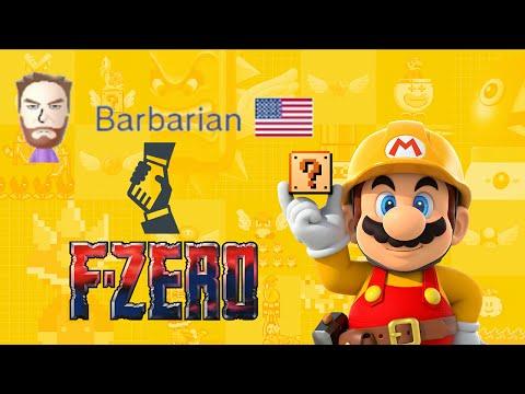 [SMM] Showcase of Barbarian - F-Zero Mix