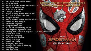Spider-Man Far From Home Full Soundtrack | Original Motion Picture Soundtrack by MICHAEL GIACCHIN