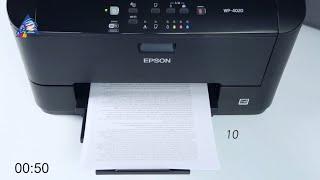 Epson R3000: тест на скорость печати текста. Режим \