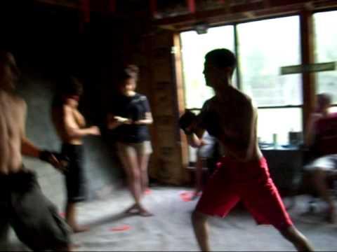 Team Throwdown video fight #1