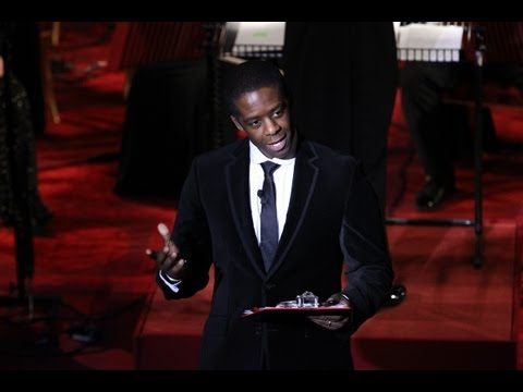 Adrian Lester at Buckingham Palace