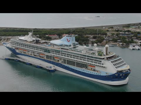Port Royal Jamaica First Cruise Ship | Marella Discovery 2