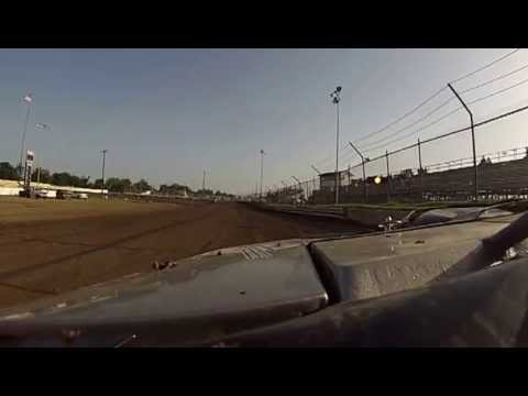 packing the track at Creek County Speedway