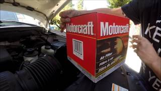 Ford Expedition Air Filter Change