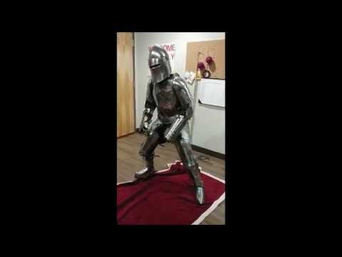 cha cha slide in armor subscribe to armor antics for more youtube
