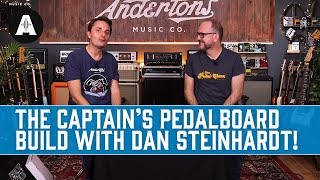 The Captain's Pedalboard Build with Dan 'The GigRig' Steinhardt!