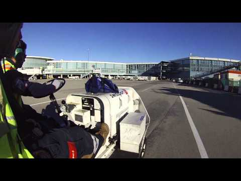 Driving Another TUG Around YVR Tarmac
