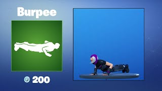 Burpee | Fortnite Emote