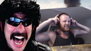 DrDisRespect Reacts to LyndonFPS's HUGE RAGE on Blackout | Funny Moments on Fortnite Random Duos