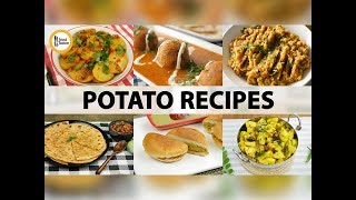 6 Potato (Aloo) Recipes By Food Fusion