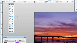 How To Watermark Your Images ( Microsoft Paint software )