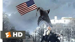 sharknado 3: oh hell no! (1/10) movie clip - god bless america (2015) hd