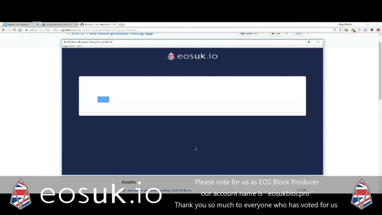 How To Vote For Eos Block Producers Uk Desktop Voting Tool