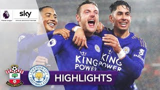 9:0! Leicester nimmt Hasenhüttl-Elf auseinander! | FC Southampton - Leicester City | Highlights