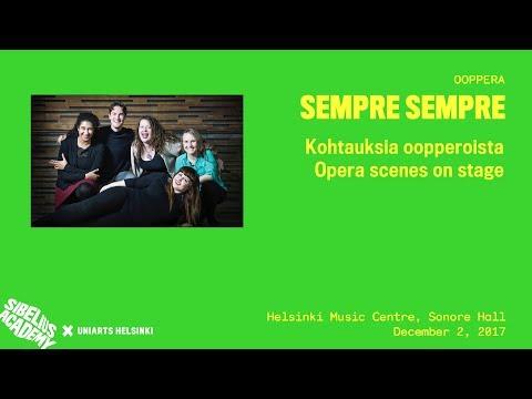SEMPRE SEMPRE - Opera Scenes on Stage