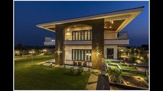 Luxurious 3BHK Villa | 5000 sq.ft. for Mr. Dhavale & family in Sapatane, Solapur.