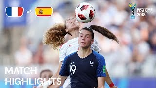 France v Spain - FIFA U-20 Women's World Cup France 2018 - Match 29