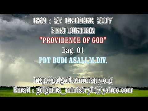 PROVIDENCE OF GOD - 01