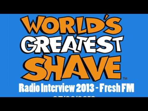 World's Greatest Shave 2013 Fresh FM Adelaide Interview 05/02/2013