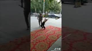Watch as a Chinese acrobatics expert performs stunning somersaults. Applause to this young man!
