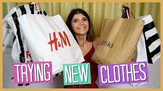 Δοκιμάζω καινούρια ρούχα #3 ft. Dodo (ΣΟΠΙ ΣΤΑΡ) - HAUL   katerinaop22