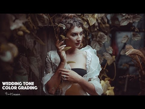 Soft Wedding Color Grading Tone Brown Photoshop Tutorial | Model Picture thumbnail
